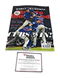 Kris Bryant Chicago Cubs Signed Autograph Full