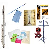 RS Berkeley P101 Elite Series Silver Plated Piccolo with Case& Bonus RSB MEGA PACK w/Essential Elements Book
