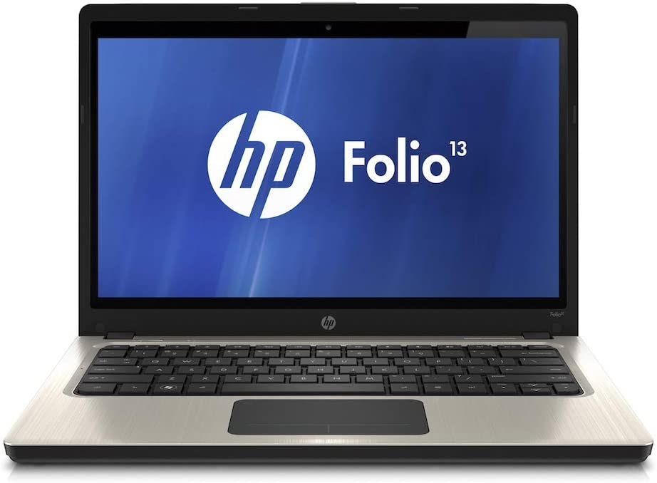 HP Folio 13 13.3 Inch Business Laptop, Intel Core i5-2467M up to 2.3GHz, 4G DDR3, 128G SSD, WiFi, HDMI, Windows 10 Pro 64 Bit Multi-Language Support English/French/Spanish(Renewed)