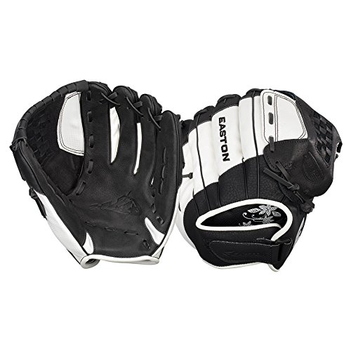 Easton Z-Flex Fastpitch Zfxfp1200 BKWH Right Hand Throw 12 in Youth Softball Pattern (Fastpitch Ball Glove Youth)