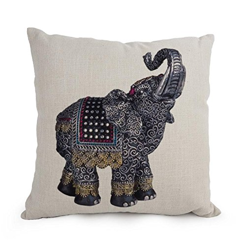 Loveloveu Elephant Throw Pillow Covers 12 X 20 Inches / 30 By 50 Cm Gift Or Decor For Club,chair,kids,christmas,living Room,bedding - Each