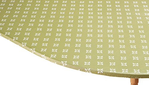 Heritage Vinyl Elasticized Table Cover by HSK