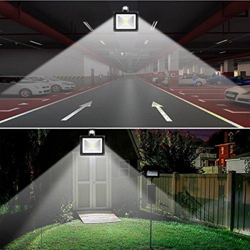 Warmoon Led Motion Sensor Flood Light 30w Outdoor Ip65