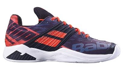 Babolat Hombres Propulse Fury Clay Zapatillas De Tenis Zapatilla Tierra Batida Negro - Naranja 45