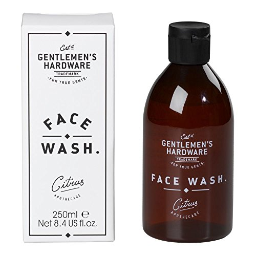 Gentlemens Hardware Apothecary Face Wash, Citrus Scent