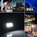 longdafei Rechargeable Floodlight, 30W LED Rechargeable Work Light Outdoor Floodlight Camping Lights with USB Waterproof…