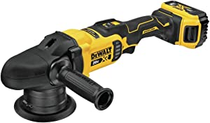 DEWALT 20V MAX XR Cordless Polisher Kit, Variable-Speed, Random Orbit, 5-Inch (DCM848P2)