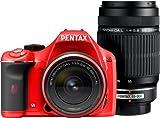 PENTAX(ペンタックス) PENTAX(ペンタックス) K-x ダブルズームキット レッド