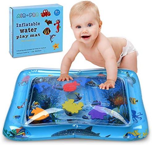 Amazon.com: Alfombrilla hinchable para bebé, divertida ...