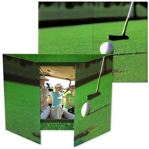 Golf gate-fold event 7x5 photo folders sold in 25s - 5x7