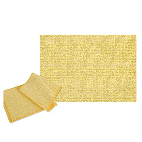 100% Natural, Organic / Beauty Skin, Shower and Bath Wash Cloth/ Body Scrub Towels / Made in Korea (Long) by HW GLOBAL (Image #1)