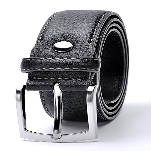 Bke Leather (Man Belt Split Leather Italian Design Casual Men's Leather Belts For Jeans)
