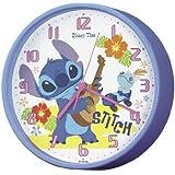 セイコークロック Disney (ディズニータイム) 掛け時計 置き時計 兼用 リロ&スティッチ FW566L