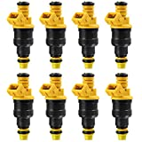 TOOGOO 8Pc 0280150943 Fuel Injectors for Ford F150 F250 F350 Lincoln 4.6 5.0 5.4 5.8 V8