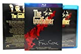The Godfather 3-movie Collection Blu Ray & 1955 CADILLAC FLEETWOOD from the classic film THE GODFATHER Mob Crime Trilogy Coppola Restoration Movie Set