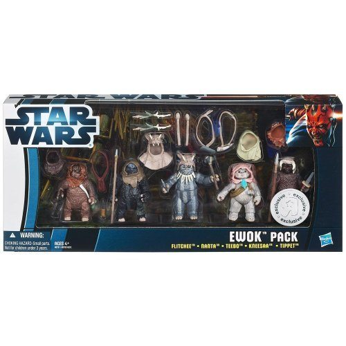 Ewok Toy (Star Wars Ewok Pilot Pack Action Figure)