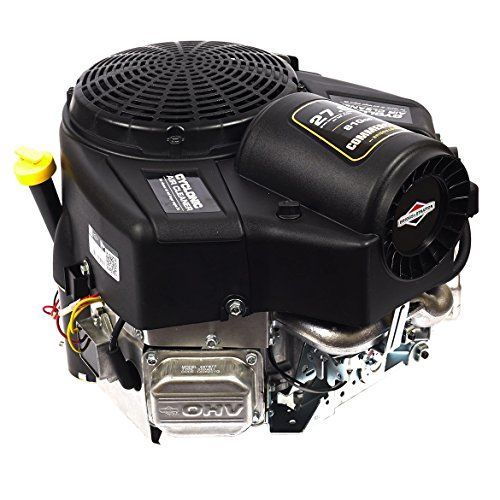 Briggs & Stratton 49T877-0004-G1 Commercial Turf Series 27 Gross HP 810cc V-Twin with Cyclonic Air Filter and 1-1/8-Inch by - Stratton Mower Briggs Riding