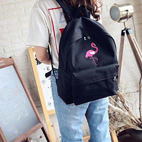 Black Sac Sac Sac Dos Dos à Sac à 11 féminin Sac Couleur de Sac Toile 31 Voyage Dos rétro à gj Loisirs d'école Sac 39cm en 31 39cm 11 Dos de de Sport Black à OqdOwRp