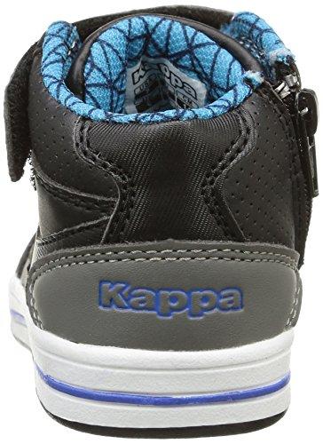 Kappa Alphor Md, Baby Jungen Lauflernschuhe Schwarz (961/black/electric Blue)