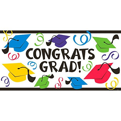 Amscan Grad Large Banner | Party