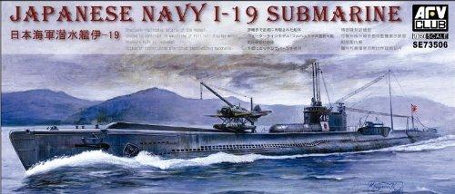 AFV Club Models 1/350 Japanese Navy I-19 Submarine