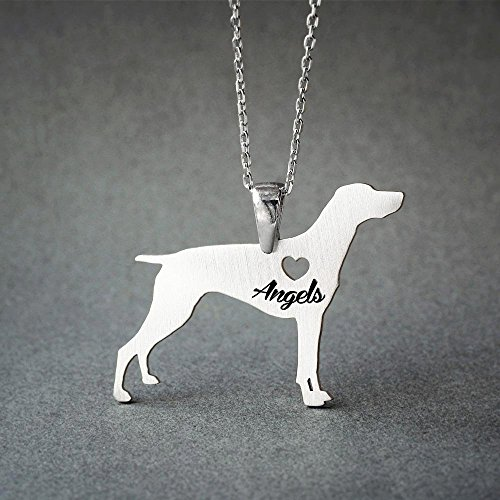 Personalised German Shorthair Pointer Necklace - German Shorthair Pointer Name Jewelry - Dog Jewelry - Dog breed Necklace - Dog Necklaces