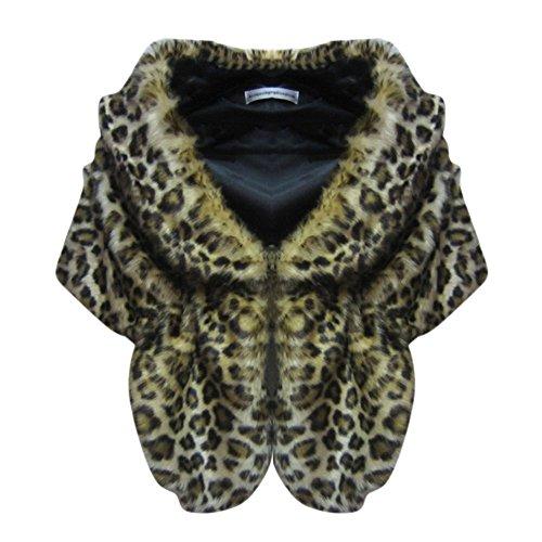 Abrigo Leopardo Capa Moresave Mujer Para AxIAdq