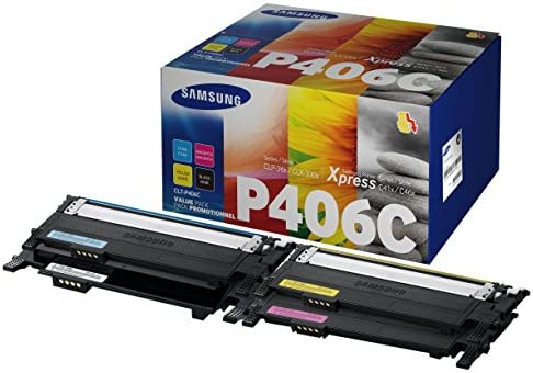 Samsung CLT-P406C Rainbow Pack - Tóner para Samsung CLP-360/365 ...