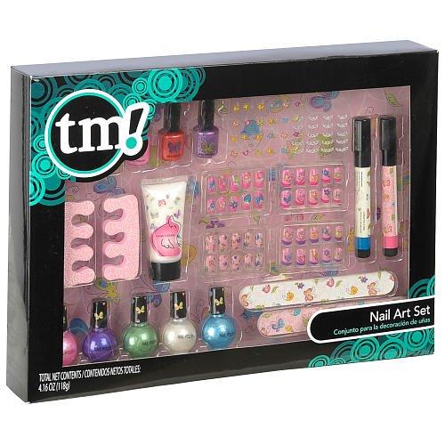 Amazon Tm Nail Art Set Girly Toys Games