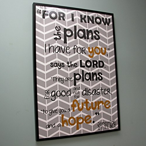 large scripture poster