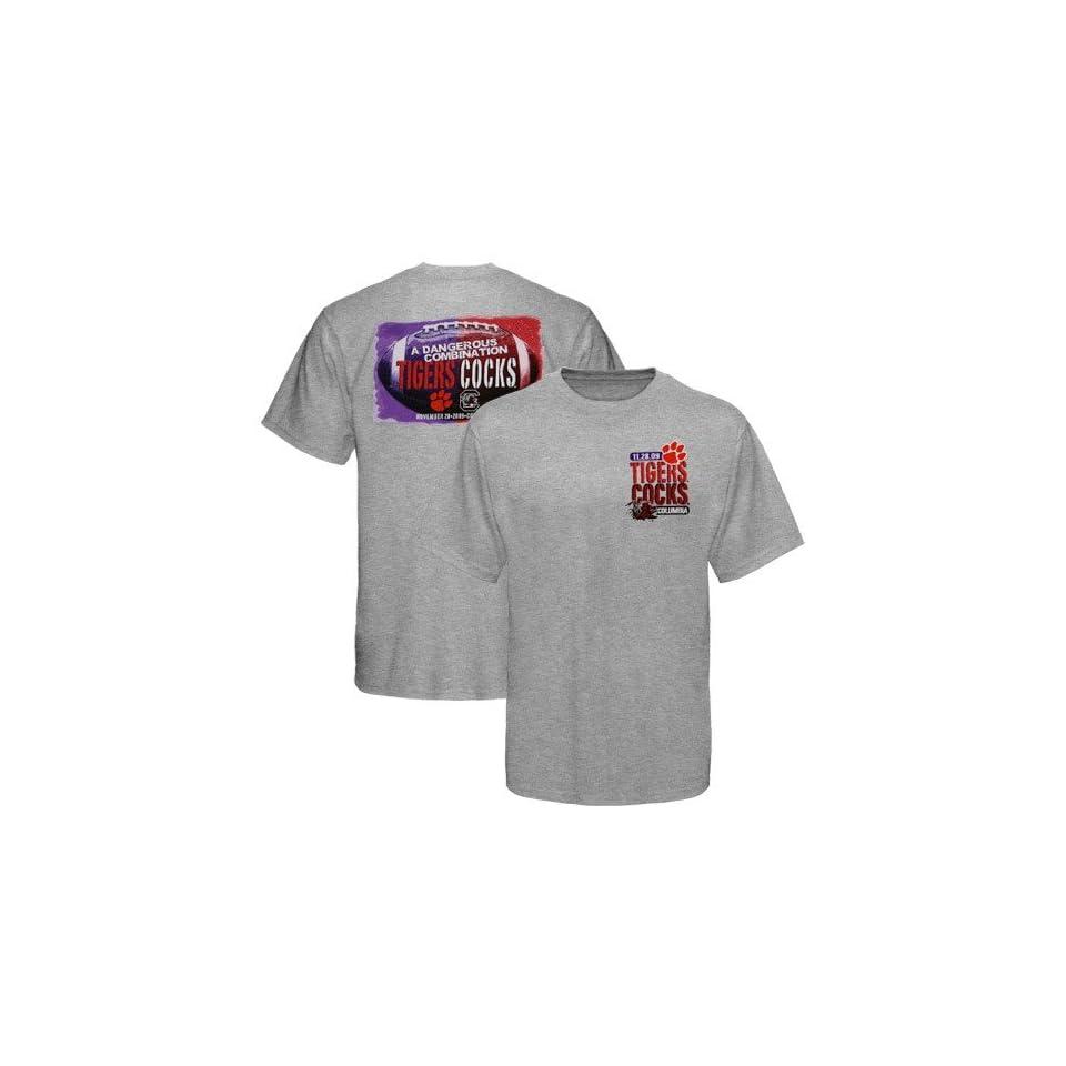 Clemson Tigers vs. South Carolina Gamecocks Ash 2009 Game Day T shirt