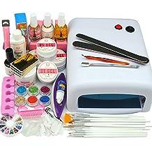Cocelia 36W White Lamp UV Gel Nail Art Set Of Brush Tool Manicure Decoration