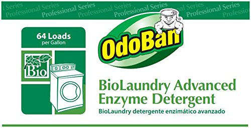 OdoBan Professional Cleaning and Odor Control Solutions, BioLaundry Advanced Enzyme Detergent, 2 Gal by OdoBan (Image #4)