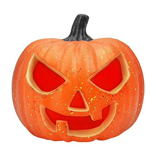 Halloween Pumpkin Decor Light Halloween Decorations Indoor Jack-O-Lantern for Backyard Lawn or Garden Decorations 8 ()