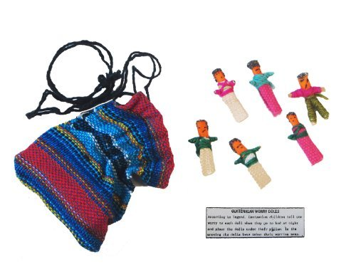 - Worry Dolls in a Bag