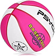 Mini Rubber Basketball,Small Basketball for Kids,Game Play Balls Size 3 (22-Inch) for Swimming Pool Basketball