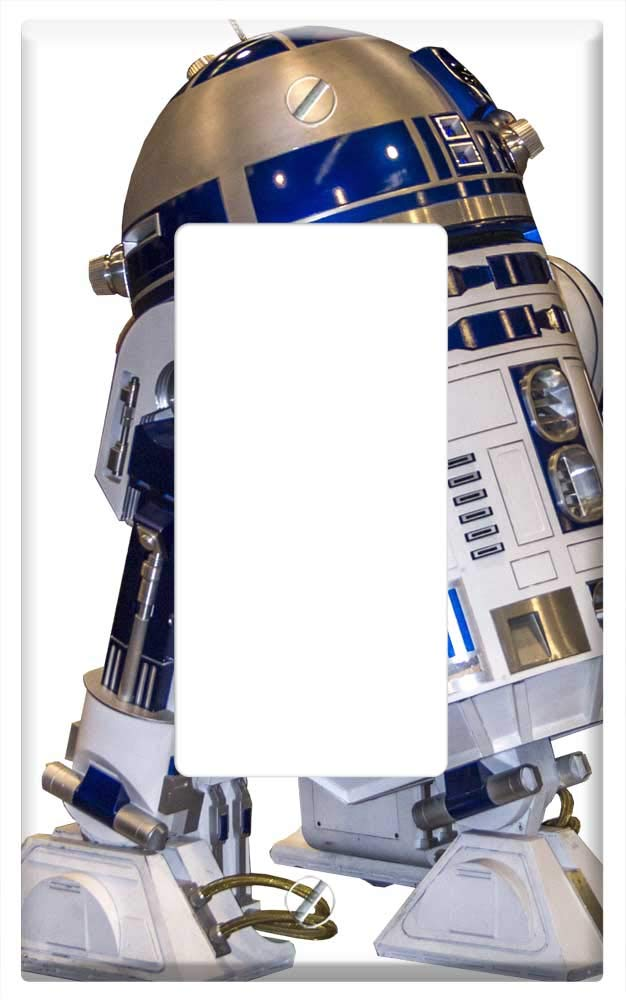 Amazon.com: R2D2 Robot Starwars Film - Tapa para placa de ...