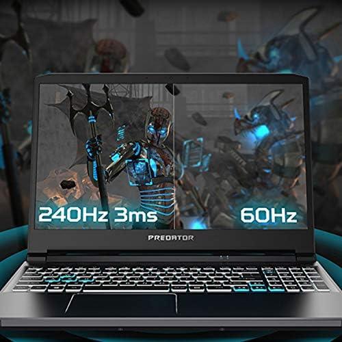 Acer Predator Triton 300 Gaming Laptop, Intel i7-10750H, NVIDIA GeForce RTX 2070 Max-Q, 15.6″ FHD 240Hz 3ms IPS Display, 16GB Dual-Channel DDR4, 512GB NVMe SSD, WiFi 6, RGB Backlit KB, PT315-52-73WT 51ZfHDhsd4L