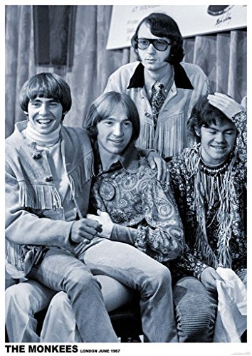ArtIFicial The Monkees Press Conference London 1967 Music Poster 24x36 inch ()