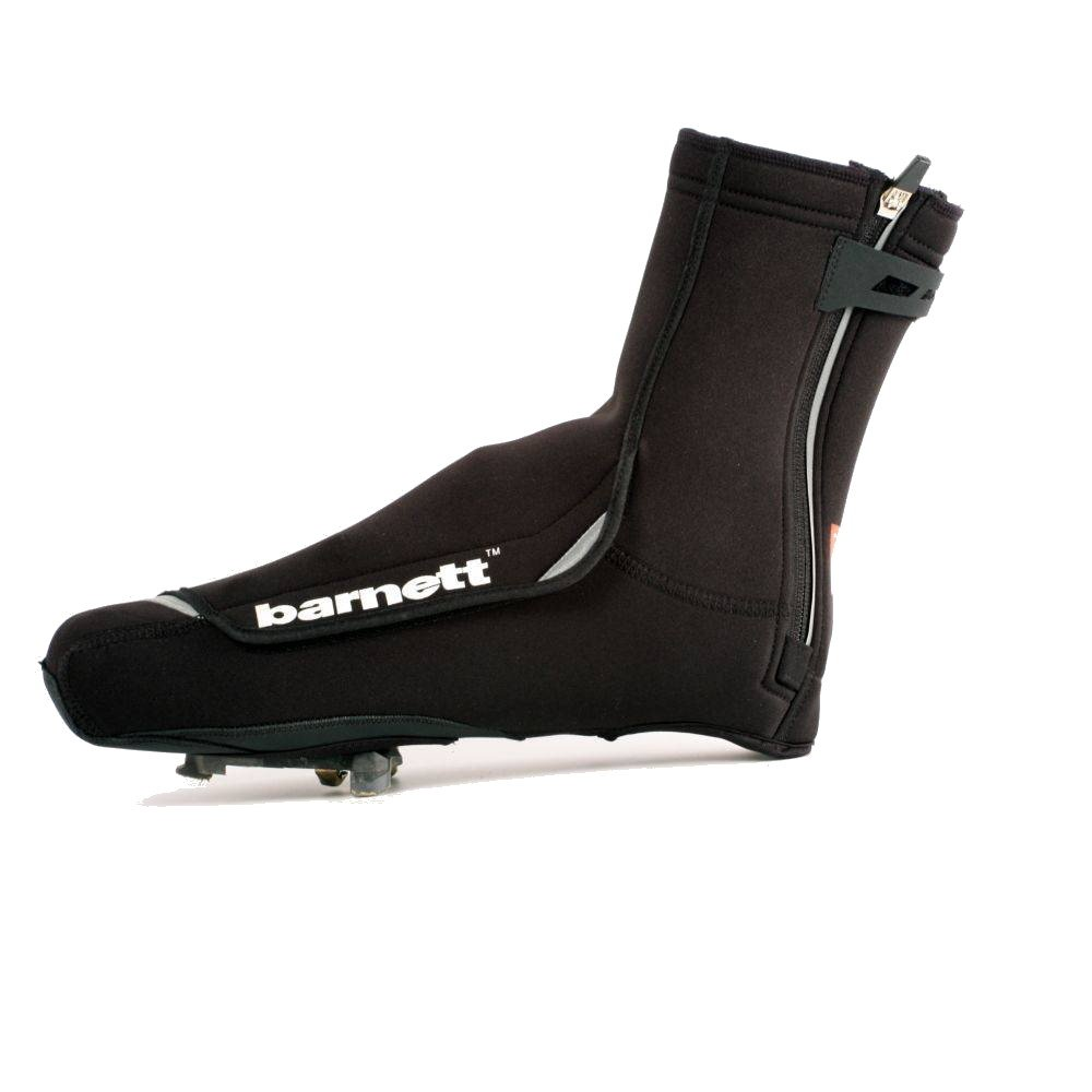 BSP-03 Warm Neoprene Cycling Overshoe, Bike Shoe Covers, black (XL)