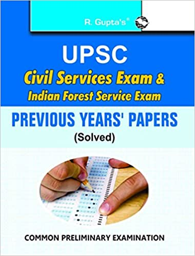 Buy UPSC-Civil Services Exam & Indian Forest Service Exam : Previous