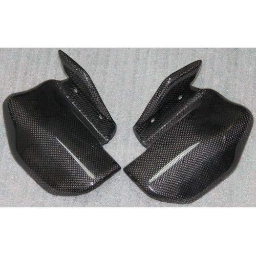 (FidgetFidget Exhaust Guard for Ducati Monster 600 620 750 900ie Dark 00-06 Carbon)