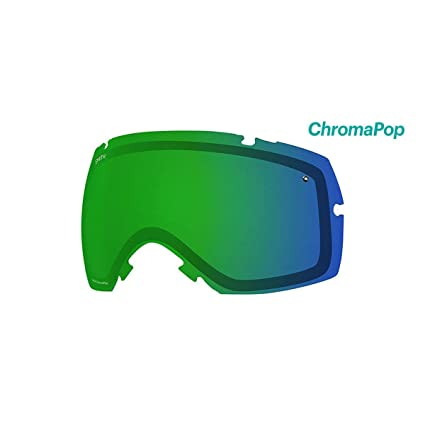5ce1c2bd6bf Smith Optics IOX IOX Turbo Adult Replacement Lense Snow Goggles Accessories  - Chromapop Everyday Green