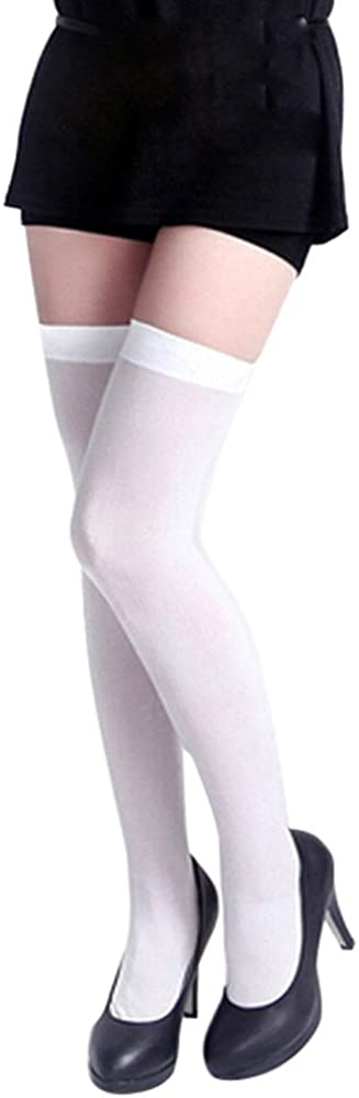 SSMENG Clearance Sale,2018 New Womens Girls High Socks Fashion Opaque Breathable Elastic Thigh Over Knee Sockings