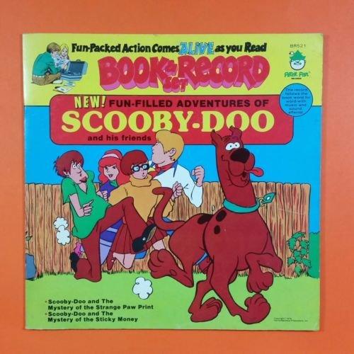 SCOOBY DOO Fun Filled Adevntures BR 521 LP Vinyl VG+ Cover VG++ GF Booklet (Scooby Doo Vinyl Record)