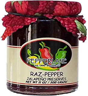 product image for Raz-Pepper Preserves, Natural Raspberry-Jalapeno Specialty Pepper Jelly, 11-Ounce each (3 Pack)