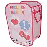 Hello Kitty Pop Open Pink Square Hamper & Toy Storage (Pink)