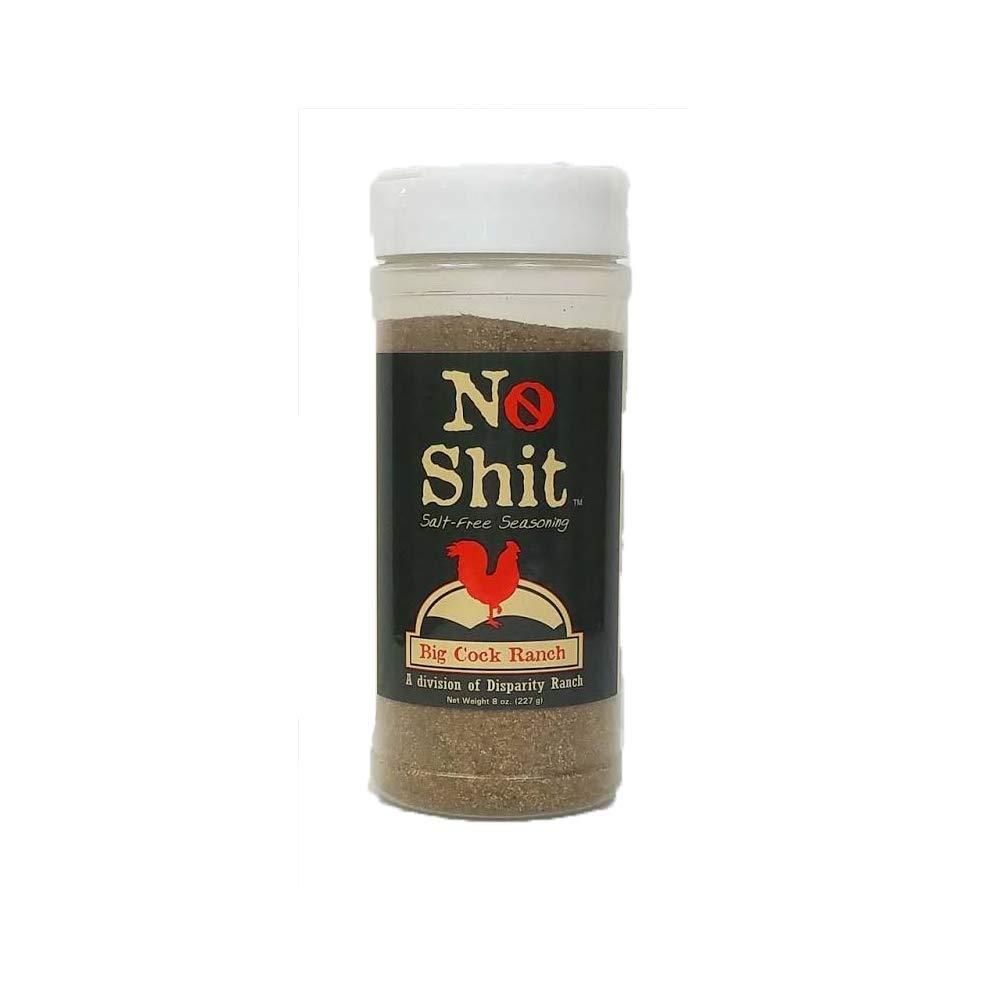 No Shit Salt Free Seasoning From Big Cock Ranch