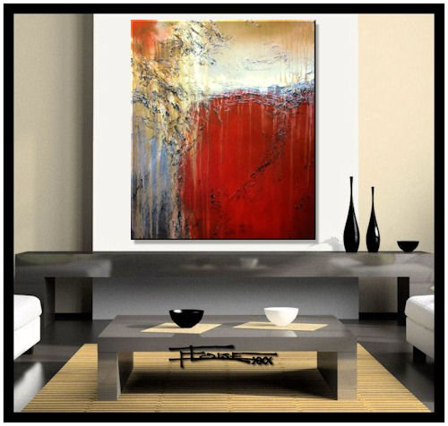 Modern Abstract Canvas Painting - Limited Edition Giclee -
