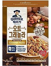 Quaker Korea Granola Golden Nuts 350g